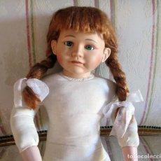 Muñecas Porcelana: BONITA MUÑECA GRANDE (60 CM) NO SE SI HOLANDESA - DOLL POUPEE. Lote 63912551