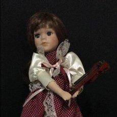 Muñecas Porcelana: MUÑECA ANTIGUA DE PORCELANA. Lote 64067027