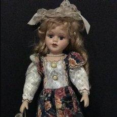 Muñecas Porcelana: MUÑECA ANTIGUA DE PORCELANA ALEMANA. Lote 64067119