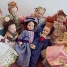 Muñecas Porcelana: LOTE DE MUÑEQUITAS DE PORCELANA. Lote 65192849
