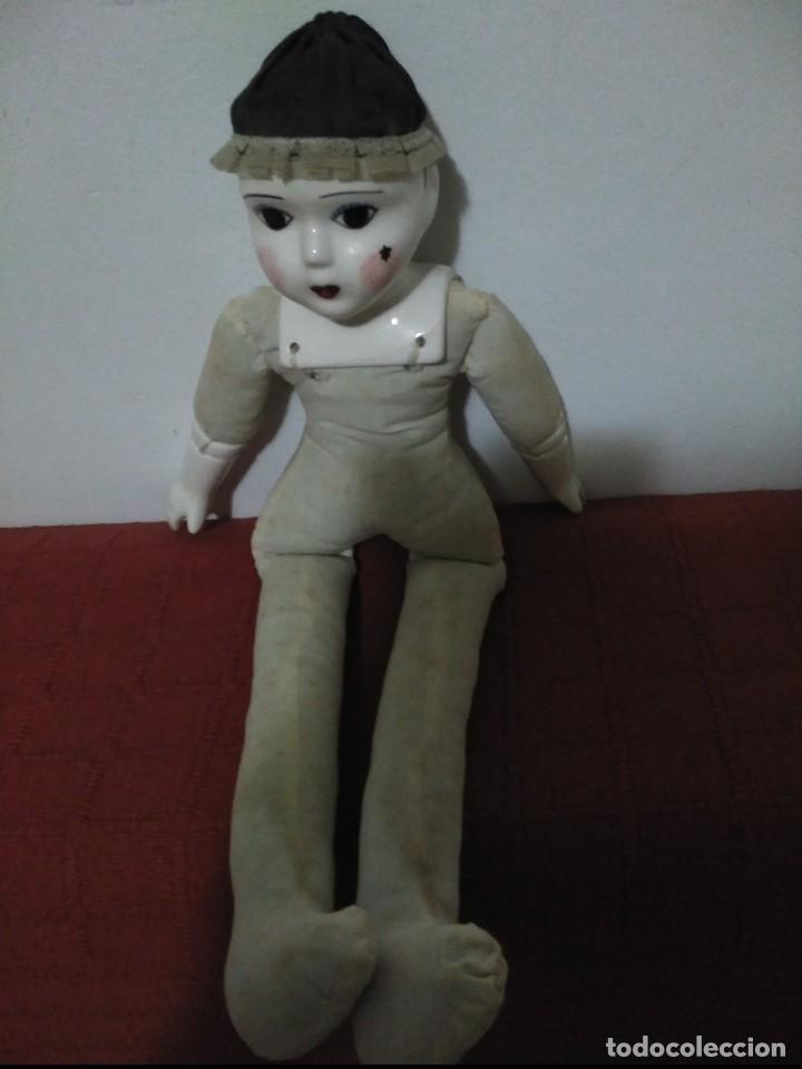 Muñecas Porcelana: antigua muñeca cara pies y manos de porcelana - Foto 2 - 65956094