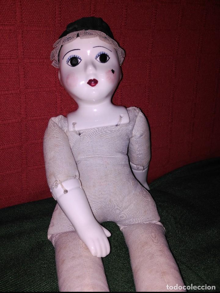 Muñecas Porcelana: antigua muñeca cara pies y manos de porcelana - Foto 4 - 65956094