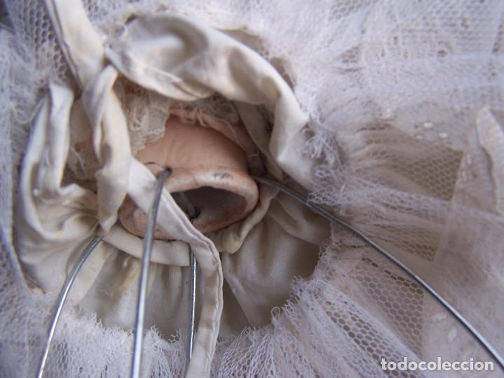 Muñecas Porcelana: Muñeca con cuerpo de porcelana y armazón de alambre. Altura 36 cm. - Foto 7 - 66346366