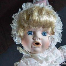 Muñecas Porcelana: ANTIGUA MUÑECA PORCELANA DE NOMBRE EUGENIA. Lote 66820042