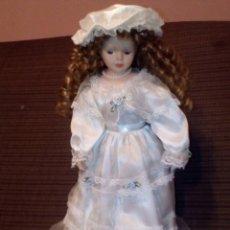 Muñecas Porcelana: PRECIOSA MUÑECA ,NOVIA DE PORCELANA .. Lote 66940734