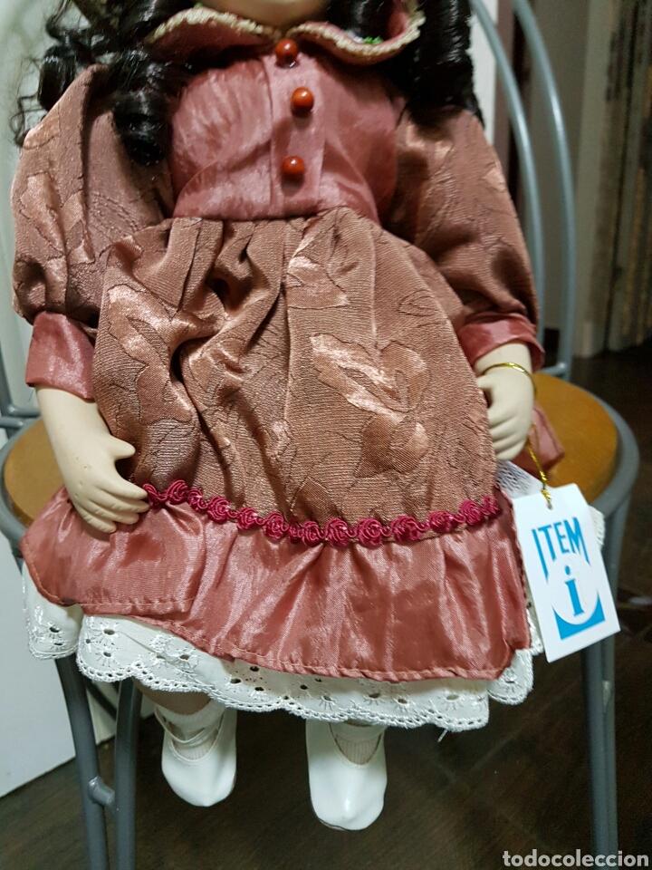 Muñecas Porcelana: Muñeca de porcelana 40cm - Foto 2 - 183973450