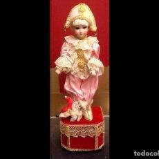 Muñecas Porcelana: LIQUIDACION DE STOCK - MUÑECA ARLEQUÍN / AUTÓMATA - MUSICAL - PORCELANA /. Lote 67293093