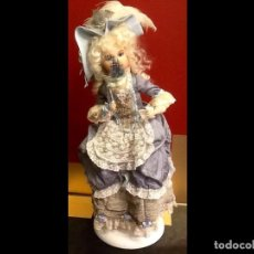 Muñecas Porcelana: MUÑECA DE ÉPOCA / AUTÓMATA /. Lote 67293541
