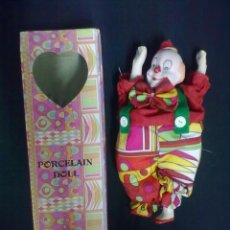 Muñecas Porcelana: PAYASO MUÑECA PORCELANA. Lote 67596133