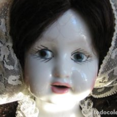 Porzellan-Puppen - muñeca de porcelana muy antigua ideal coleccionistas - 67973445