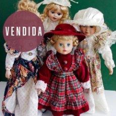 Muñecas Porcelana: LOTE 3 MUÑECAS ANTIGUAS DE PORCELANA. Lote 58259457