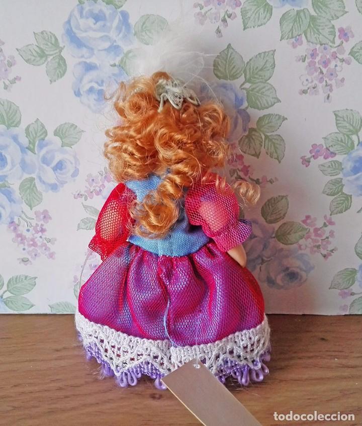 Muñecas Porcelana: Mini muñeca porcelana muñeca pelirroja muñequita miniatura casa muñecas - Foto 3 - 69690661