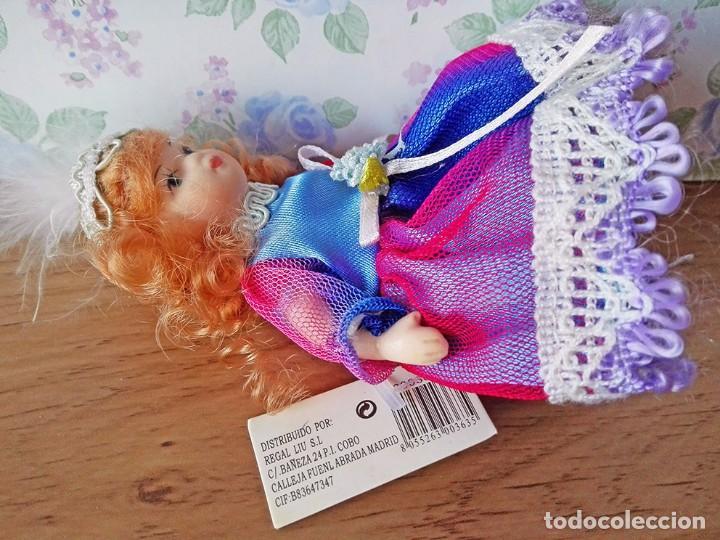 Muñecas Porcelana: Mini muñeca porcelana muñeca pelirroja muñequita miniatura casa muñecas - Foto 5 - 69690661
