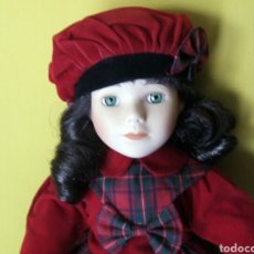 Muñecas Porcelana: MUÑECA CHARLOTTE DE PORCELANA ANTIGUA VINTAGE RETRO. Lote 69804691