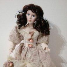Muñecas Porcelana: MUÑECA PORCELANA. Lote 71956433