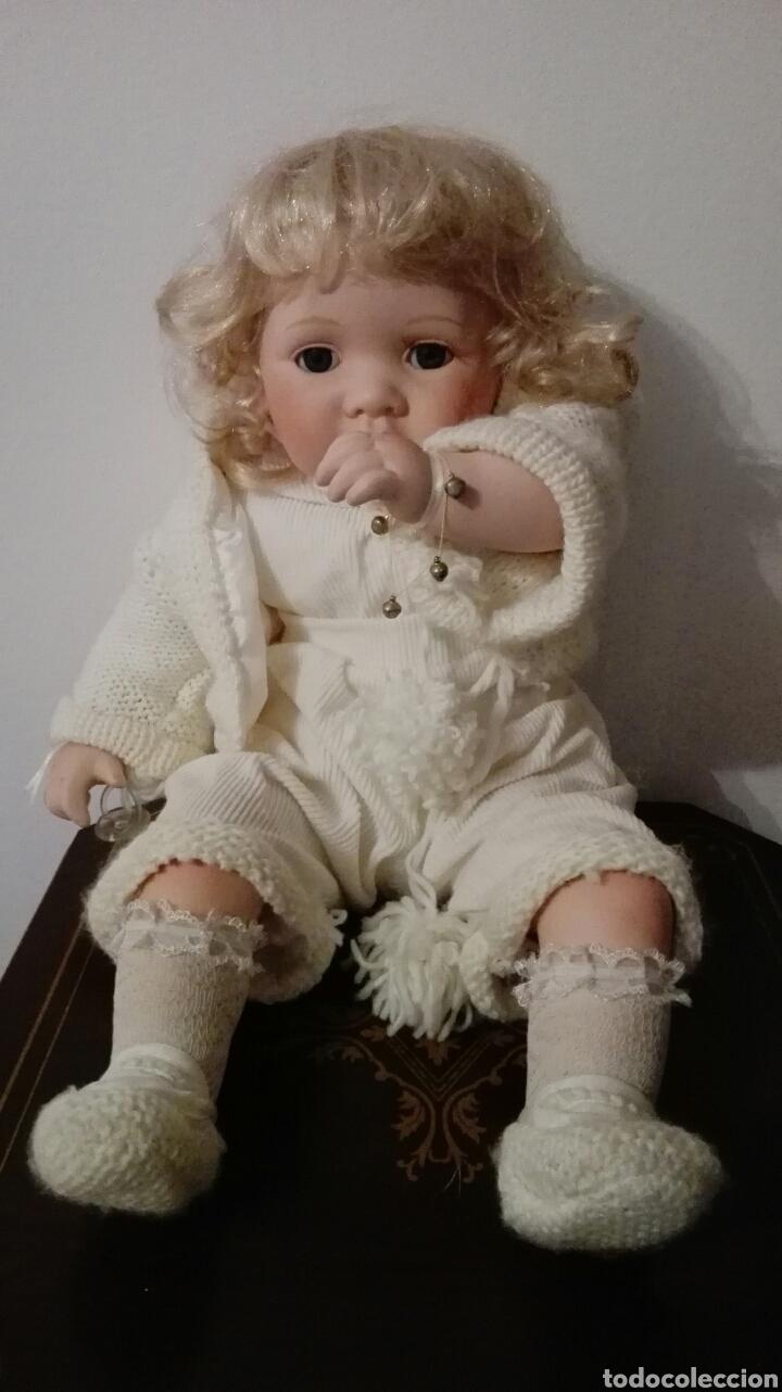 MUÑECO DE PORCELANA (Juguetes - Muñeca Extranjera Moderna - Porcelana)