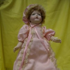 Muñecas Porcelana: MUÑECA PORCELANA RAMÓN INGLES AÑOS 70, TODA DE PORCELANA, ARTICULADA, 42 CM, NUEVA.. Lote 72211395
