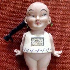 Muñecas Porcelana: MUÑECA ORIENTAL MUY RARA EN BISCUIT - INGLATERRA - PRIMEROS AÑOS DEL SIGLO XX. Lote 72213319
