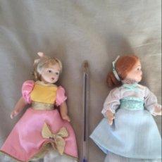 Muñecas Porcelana: MUÑECAS DE PORCELANA ARTICULADAS. Lote 72288439