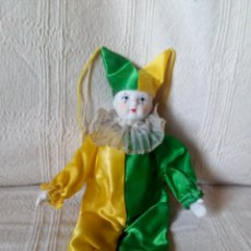 Muñecas Porcelana: ARLEQUIN, CABEZA Y EXTREMIDADES DE PORCELANA. Lote 73768347