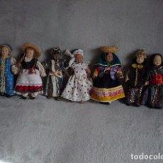 Muñecas Porcelana: MUÑECAS DE PORCELANA COLECCIÓN PAISES DEL MUNDO LOTE 12 UNI -. Lote 74292495