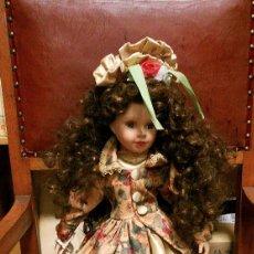Muñecas Porcelana: MUÑECA DE PORCELANA. Lote 75633511