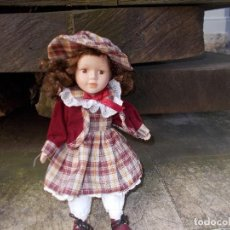 Muñecas Porcelana: MUÑECA DE PORCELANA ,MIDE 20 CENT ,ESTA PERFECTA. Lote 75802027