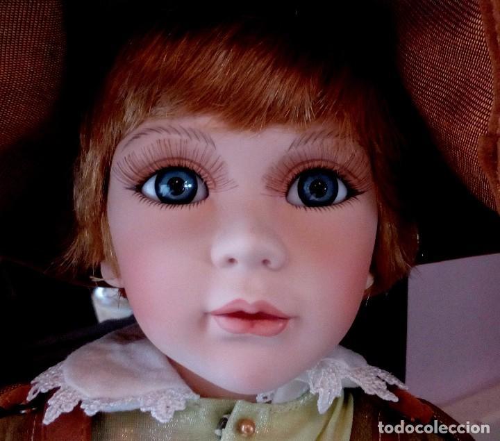 Muñecas Porcelana: MAXIMILIAM, PAJE DE PORCELANA ALEMANA BISCUIT - SERIE LIMITADA -CERTIFICADO-EXPOSITOR - Foto 4 - 147789921