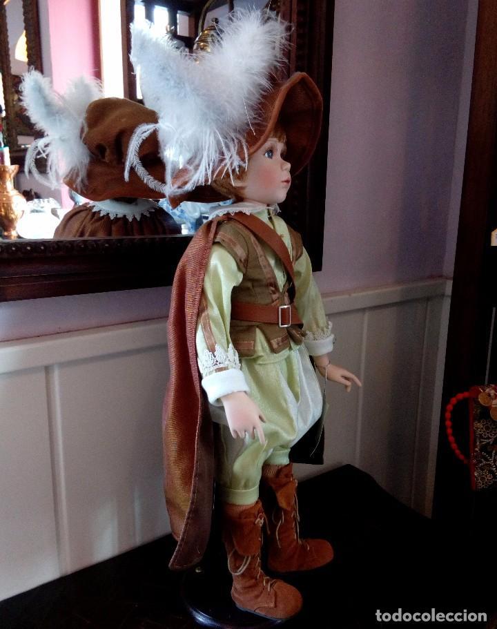 Muñecas Porcelana: MAXIMILIAM, PAJE DE PORCELANA ALEMANA BISCUIT - SERIE LIMITADA -CERTIFICADO-EXPOSITOR - Foto 6 - 147789921