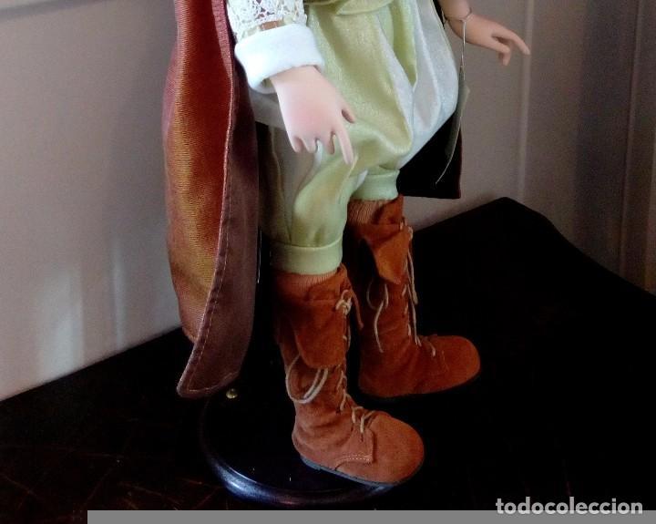Muñecas Porcelana: MAXIMILIAM, PAJE DE PORCELANA ALEMANA BISCUIT - SERIE LIMITADA -CERTIFICADO-EXPOSITOR - Foto 7 - 147789921