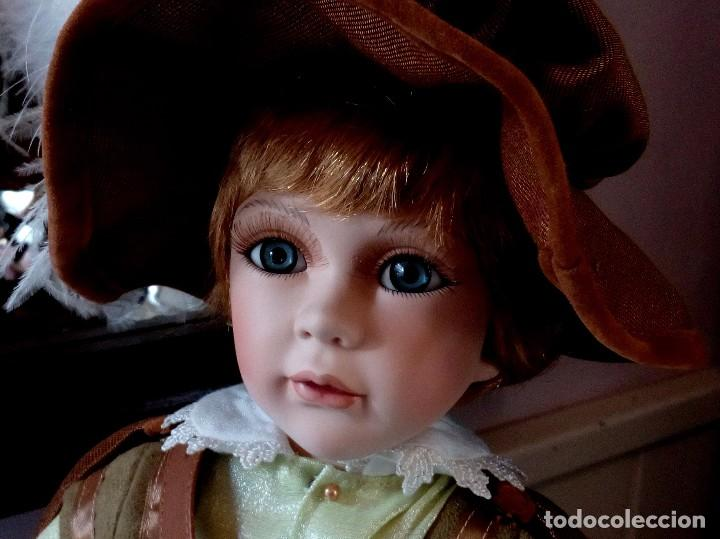 Muñecas Porcelana: MAXIMILIAM, PAJE DE PORCELANA ALEMANA BISCUIT - SERIE LIMITADA -CERTIFICADO-EXPOSITOR - Foto 12 - 147789921
