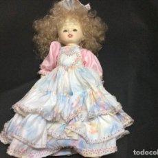 Muñecas Porcelana: MUÑECA DE PORCELANA ARTICULADO EN TRAJE PORTUGUÉS.. Lote 76849335