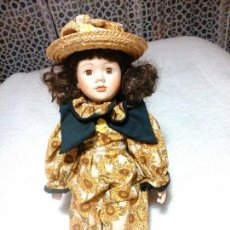 Muñecas Porcelana: MORENITA DE PORCELANA. Lote 77258861