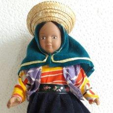 Muñecas Porcelana: MUÑECA PORCELANA TRAJE DE PERÚ. Lote 77735549