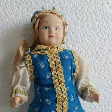 Muñecas Porcelana: MUÑECA DE PORCELANA TRAJE RUSO. Lote 77736019