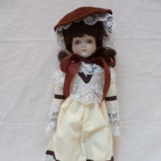 Muñecas Porcelana: MUÑECA ALEMANA DE PORCELANA - 45,5 CM DE ALTO - AÑOS 70. Lote 77912485