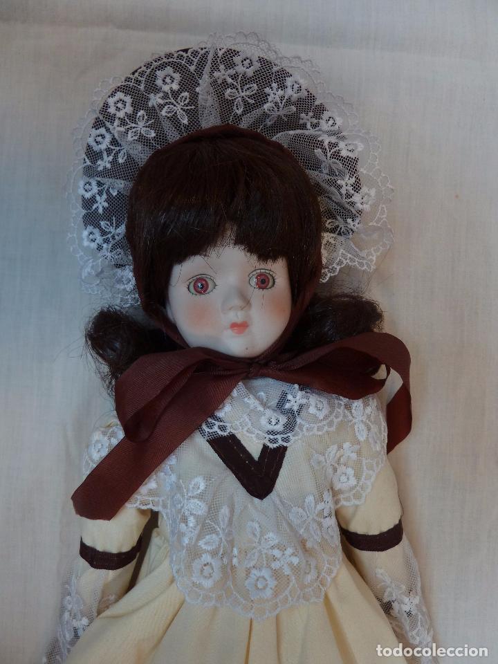 Muñecas Porcelana: MUÑECA ALEMANA DE PORCELANA - 45,5 CM DE ALTO - AÑOS 70 - Foto 3 - 77912485