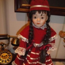 Muñecas Porcelana: MUÑECA D PORCELANA 40 CM. DE COLECCIÓN. LLAMADA LAURA. Lote 105588491