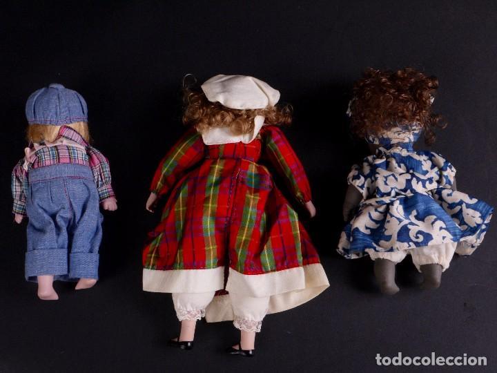 Muñecas Porcelana: LOTE 3 MUÑECAS PORCELANA - Foto 2 - 79025345