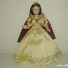 Muñecas Porcelana: PRECIOSA MUÑECA MUÑEQUITA DE CERAMICA VESTIDA BLANCANIEVES. Lote 79117549