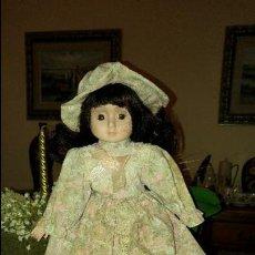 Muñecas Porcelana: PRECIOSA MUÑECA DE PORCELANA. Lote 79621477