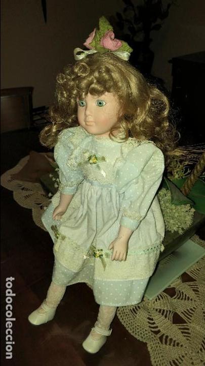 Muñecas Porcelana: Preciosa muñeca de porcelana - Foto 2 - 79623405