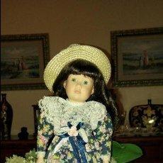 Muñecas Porcelana: PRECIOSA MUÑECA DE PORCELANA ELIZABETH DE PROMENADE COLLECTION, NUMERADA. Lote 79623865