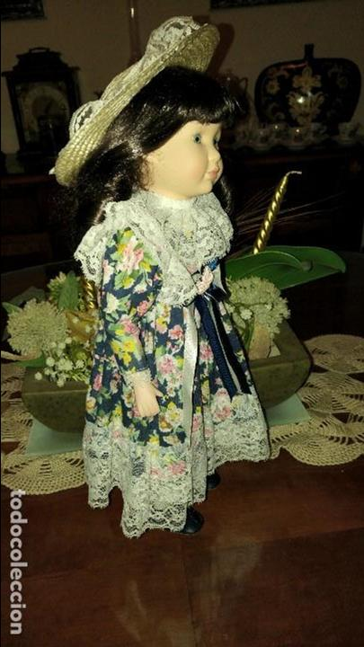 Muñecas Porcelana: Preciosa muñeca de porcelana Elizabeth de Promenade Collection, numerada - Foto 4 - 79623865