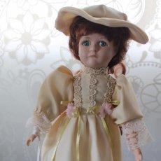 Muñecas Porcelana: MUÑECA DE PORCELANA-RARA-SOLO SE LA VE EL LABIO SUPERIOR. Lote 79945473