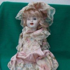 Muñecas Porcelana: MUÑECA DE PORCELANA. Lote 80731846