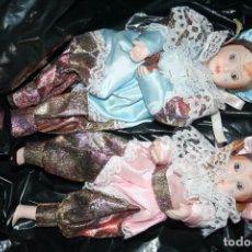 Muñecas Porcelana: PAREJA DE MUÑECAS MUÑECO Y MUÑECA RAMON INGLES . Lote 81634700