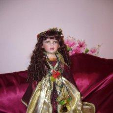 Muñecas Porcelana: MUÑECA MUY GRANDE NAVIDAD-PORCELANA- ASI--NUEVA-COMUNIÓN-DE MARCA Y Nº LIMITADO DE SERIE. Lote 81703840