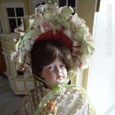 Muñecas Porcelana: MUÑECA DE PORCELANA DE NOMBRE FAYE - SIMON & HALBING S & H 150 - REPRODUCCIÓN. Lote 83283864