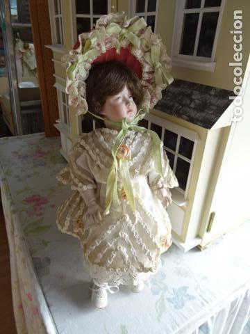 Muñecas Porcelana: MUÑECA DE PORCELANA DE NOMBRE FAYE - SIMON & HALBING S & H 150 - REPRODUCCIÓN - Foto 2 - 83283864
